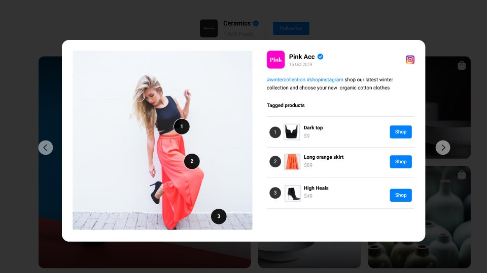 apparel example of shop my feed